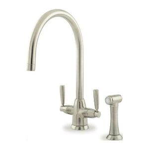 4485 Perrin & Rowe Contemporary Metis Sink Mixer Tap With Rinse